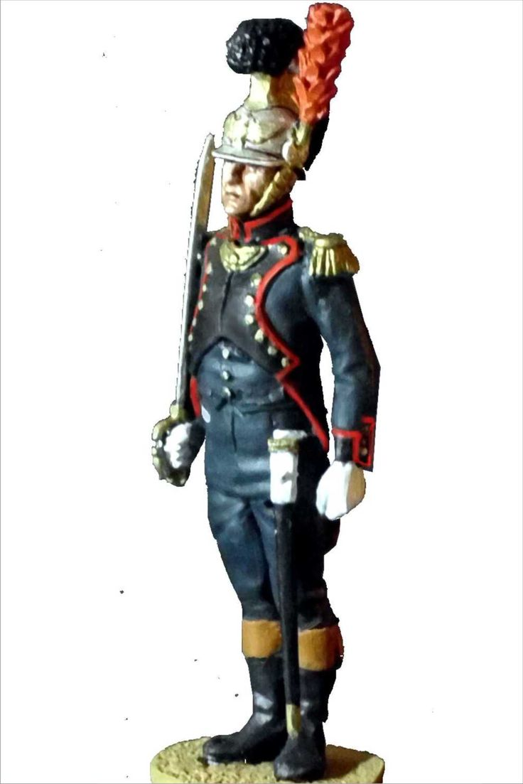 NP 016 FRENCH IMPERIAL GUARD SAPPERS OFFICER