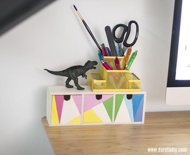 Dare to DIY: DIY Decor | Transforma tu escritorio y tu espacio de trabajo