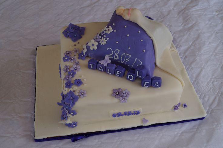 Christening cake. Dåpskake