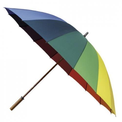 Duhový golfový deštník DUHA Grande Rainbow