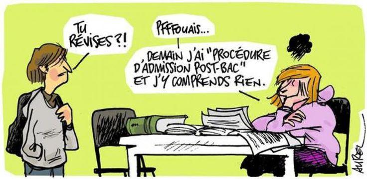 Libération a publié son enquête sur les secrets de la sélection à la fac qui a lieu à travers la plateforme d'inscription qu'est APB. (France)