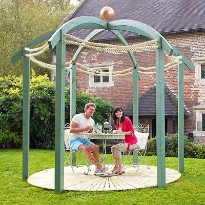 Jac Flower Domed Garden Pergola for Sale