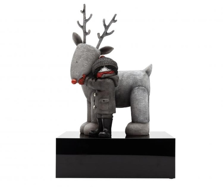 'My Best Friend' limited edition sculpture by Doug Hyde at www.artworx.co.uk