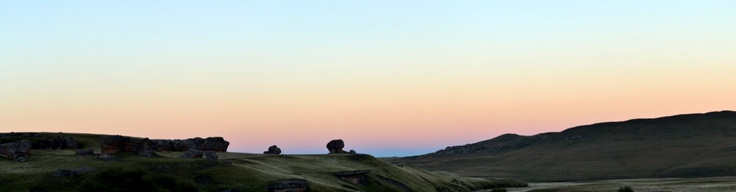 Sunset dreams in Lesotho
