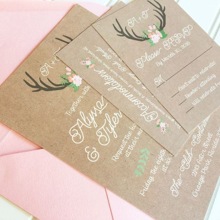 how to address wedding invitations inside envelope%0A Hadley Designs  Western Wedding InvitationsTraditional