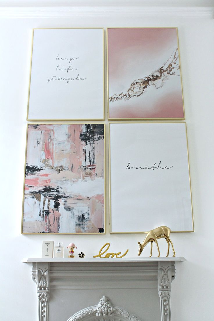 Trend In Art Print Gallery Wall With Desenio And Giveaway
