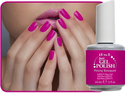 Ibd Peony Bouquet Gel Nail Color Splash In 2018 Pinterest Nails And Colors
