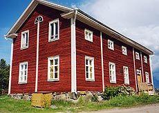 Aapan house. Kannus, Central Ostrobothnia province of Western Finland - Keski-Pohjanmaa