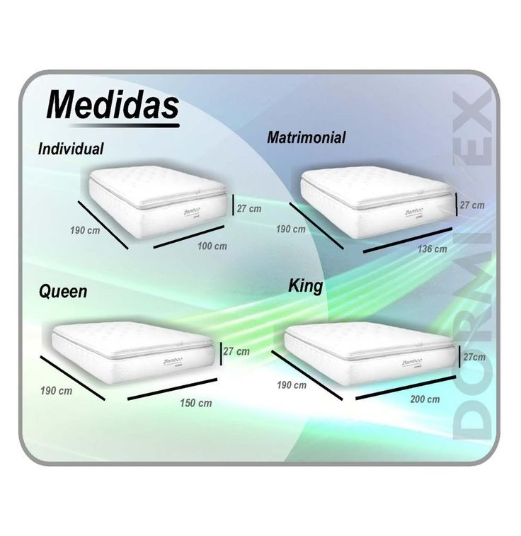 M s de 10 ideas incre bles sobre medidas cama king en for Medidas de base de cama queen