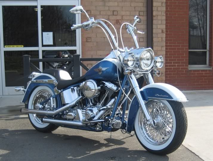 softail deluxe with ape hangers for sale google search. Black Bedroom Furniture Sets. Home Design Ideas