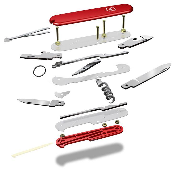 Das Schweizer Messer ist ein legendärer Klassiker, der bei keinem Mann fehlen sollte und damit man eine wirklich besondere Bindung zu seinem eigenen Messer eingehen kann, gibt es nun dasVictorinox...