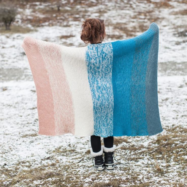 The Woven Snuggle Blanket in Sumptuous