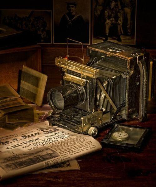 Vintage Camera at http://weheartit.com/entry/6163760  #vintage #camera