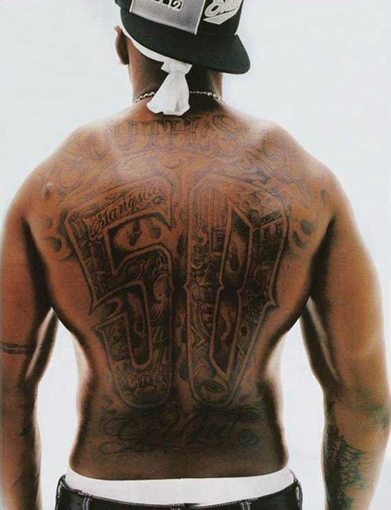 15 best 50 cent tattoos images on pinterest back pieces for 50 cent back tattoo