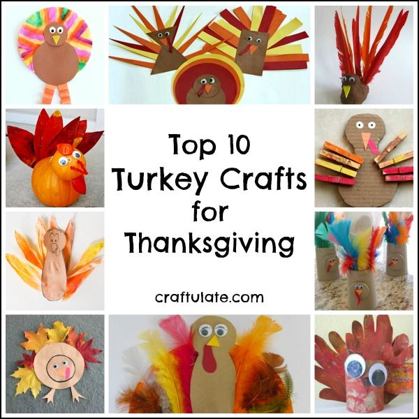 Try Out These Great Turkey Crafts With The Kids This