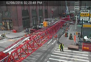 Webcam Rue Worth @ W Broadway - Caméra de circulation sur la rue Worth...