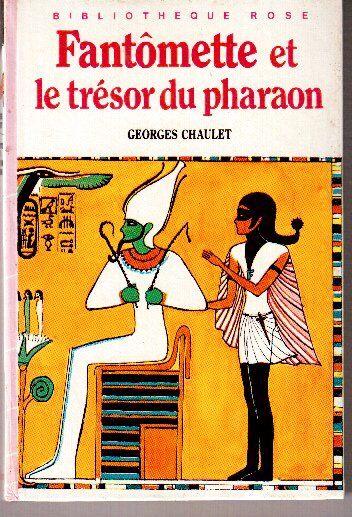 Fantômette et le trésor du Pharaon, Bibliothèque Rose