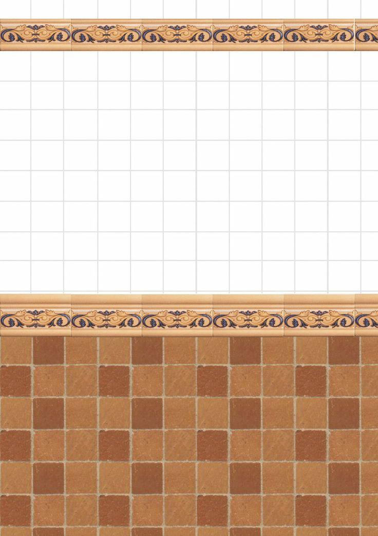 M s de 25 ideas incre bles sobre azulejos de pared de - Empapelar sobre azulejos ...