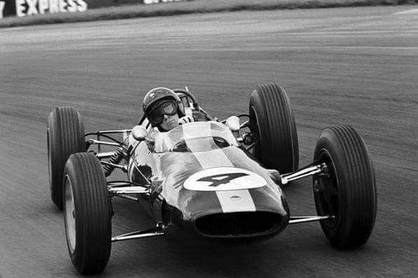 1963 International Trophy Silverstone Jim Clark In Trevor Taylor S Lotus Climax 25 During Qualifying Session Ph Classic Racing Cars Classic Racing Racing