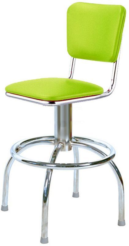 Beautiful Apple Green Bar Stools