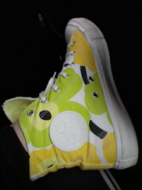 My shoes! Converse Marimekko!