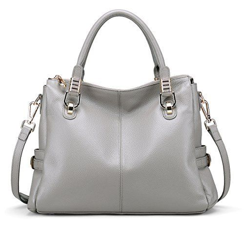 New Trending Make Up Bags: BIG SALE-AINIMOER Womens Genuine Leather Vintage Tote Shoulder Bag Top-handle Crossbody Handbags Large Capacity Ladies Purse (Gray). BIG SALE-AINIMOER Womens Genuine Leather Vintage Tote Shoulder Bag Top-handle Crossbody Handbags Large Capacity Ladies' Purse (Gray)  Special Offer: $78.99  433 Reviews Welcome to AINIMOER Amazon store, our bag's quality and our service are industry leaders. It can show...