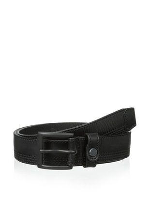 58% OFF Marc New York Men's Snap Detail Belt (Black)