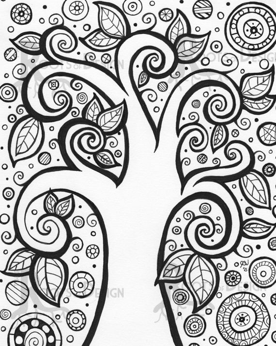 30 Best Images About Coloring Pages Tree Of Life On