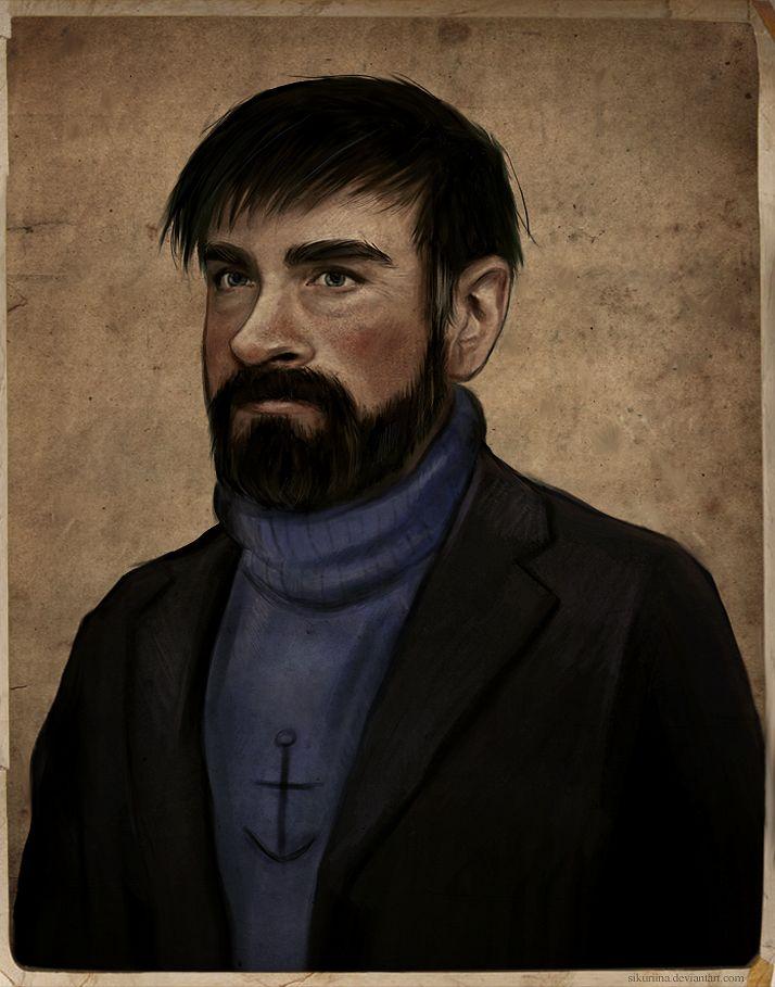 Captain Haddock by sikuriina on DeviantArt