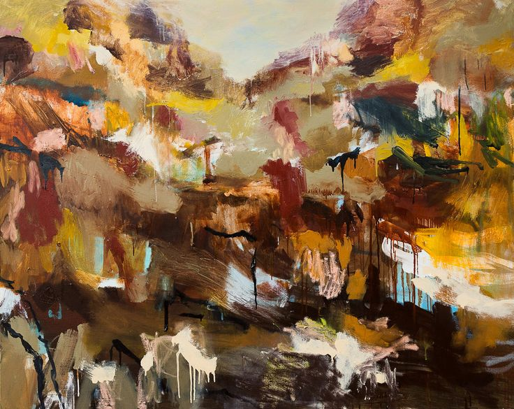 Up the Ridge  Oil on Canvas  H 122cm x W 152cm  Available