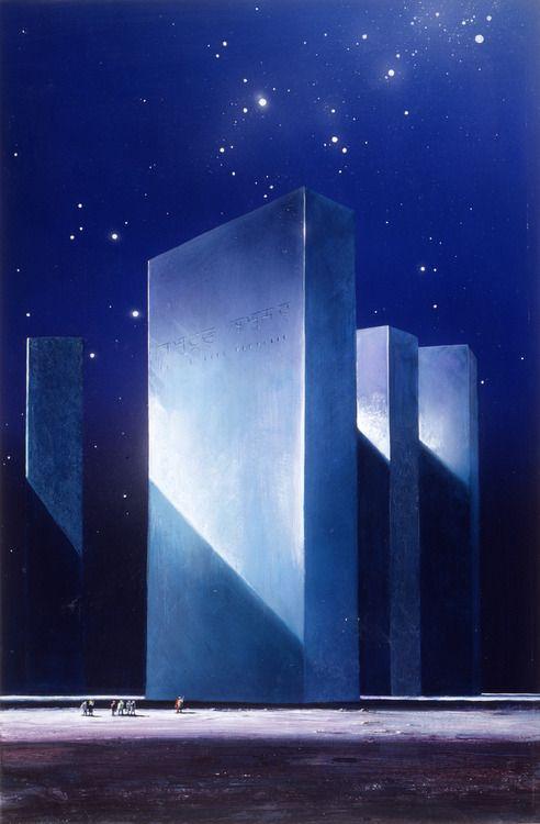 Triple Towers by John Harris