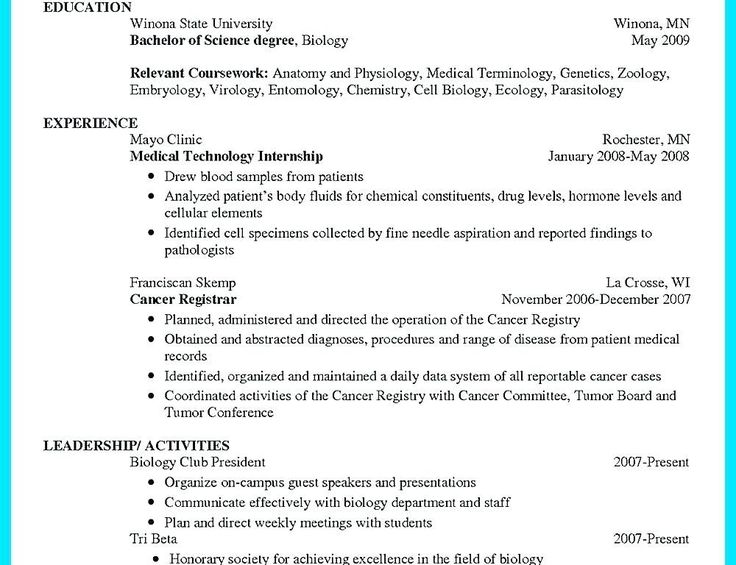 Resume Format For Zoology Lecturer Resume Format Resume Format Resume Zoology