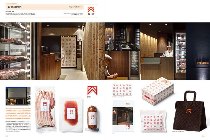 Hagiwara Butcher: Shop Image Graphics in Tokyo+