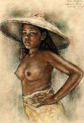 Willem Gerard Hofker - Gadis Bali Cantik