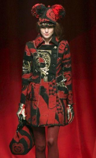 Manteau Desigual Lacroix collection hiver 2012