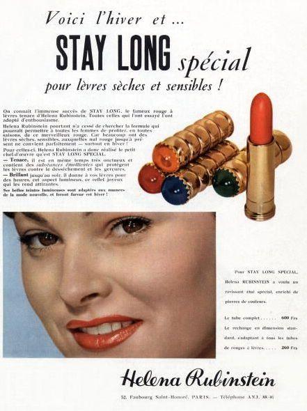 Helena Rubinstein Vintage Lipstick | Vintage Beauty ...