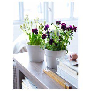 Ikea Oradd, Ceramic Beige Flower Plant Pot Set of 3 http://theceramicchefknives.com/large-ceramic-pots/