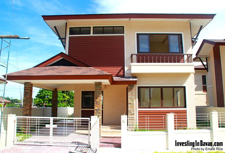 This is model house 6 in a balinese community located in for Philippine model house design