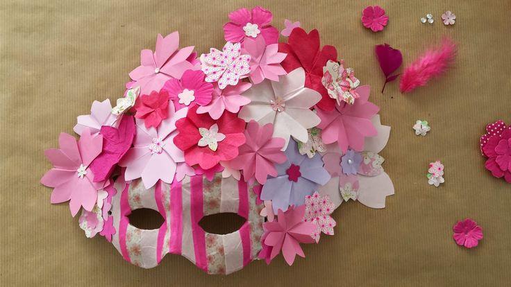 Rose de Biboun: Test et DIY : un masque de carnaval Reine des Fleurs.