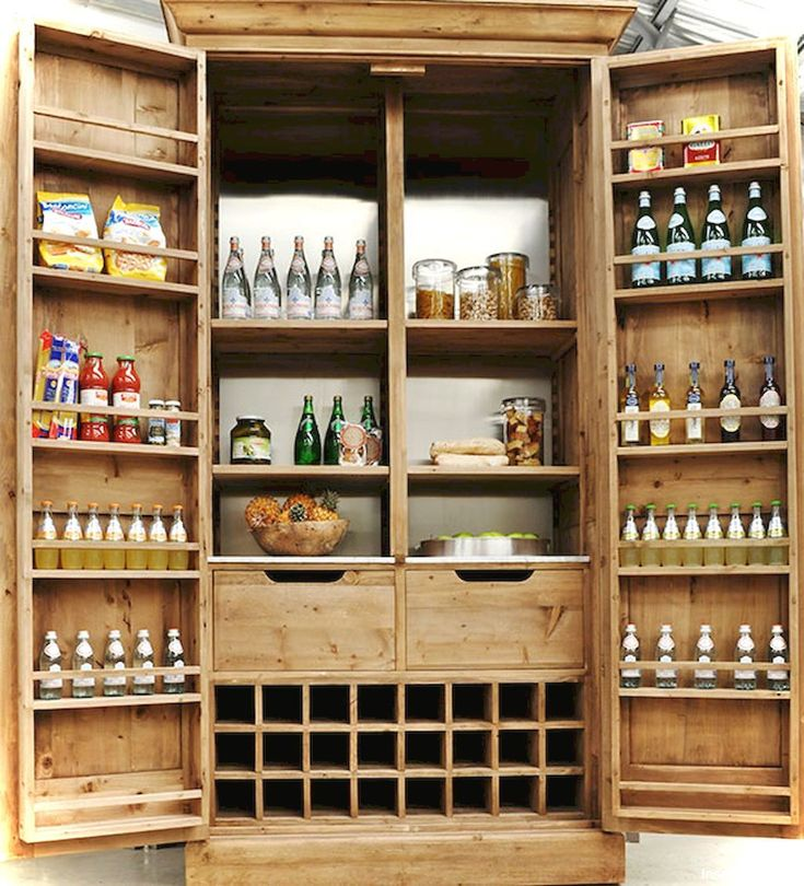 small kitchen french country style ideas06 kitchen pantry cabinet freestanding stand alone on kitchen cabinets pantry id=58198