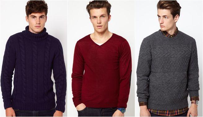 Jerseys Selected para chico. Invierno 2013