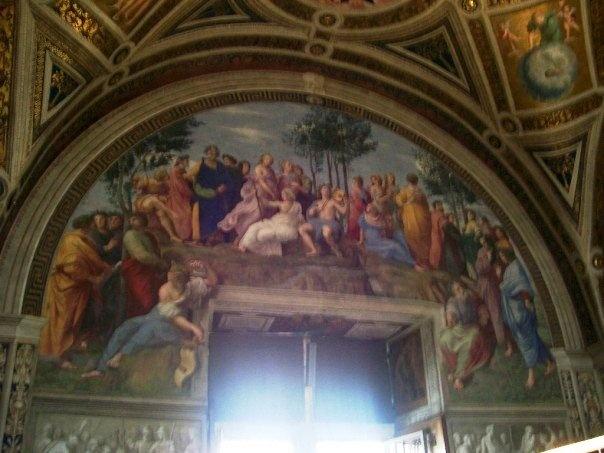 Parnasuss, Raphael Room, Vatican Museum