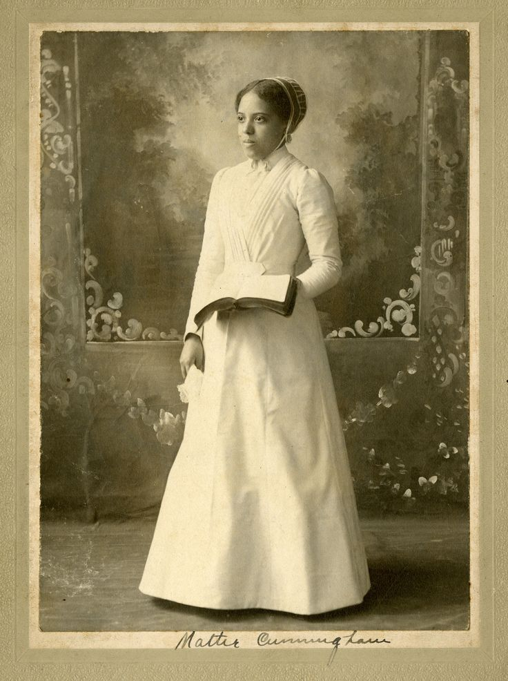 Mattie Cunningham was the first female African-American student at Manchester College.  She was also one of the first female ministers in the Church of the Brethren.