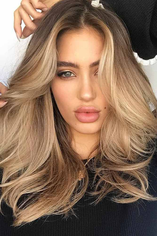 70+ Sexy Light Brown Hair Color Ideas