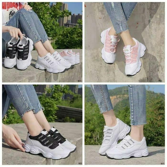 Kode Sepatu Kets New Sport Harga Rp 80 000 Kondisi