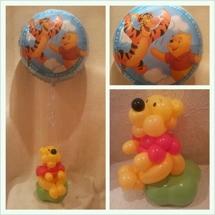 Pooh bear gift for new baby.