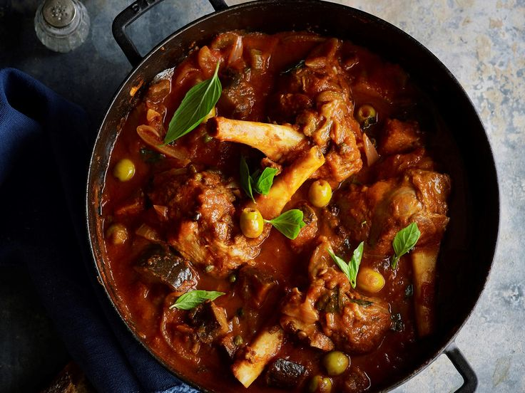 Nourish your family with this delicious lamb shank and eggplant stew.
