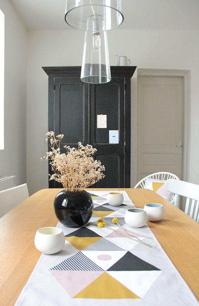 DINING | Lavmi Kempink table runner (http://www.slavia-vintage.com/5-categorie-design-contemporain/434-design-tcheque-table-runner-kempink-by-lavmi)