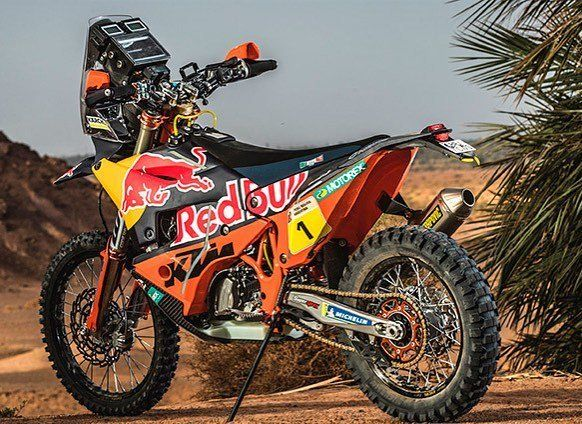 KTM 450-Dakar 2018