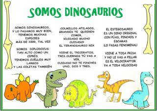 Cancion somos dinosaurios